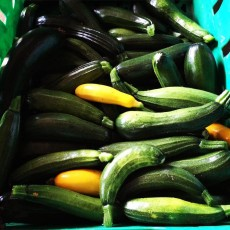 Organic Courgettes (500g)